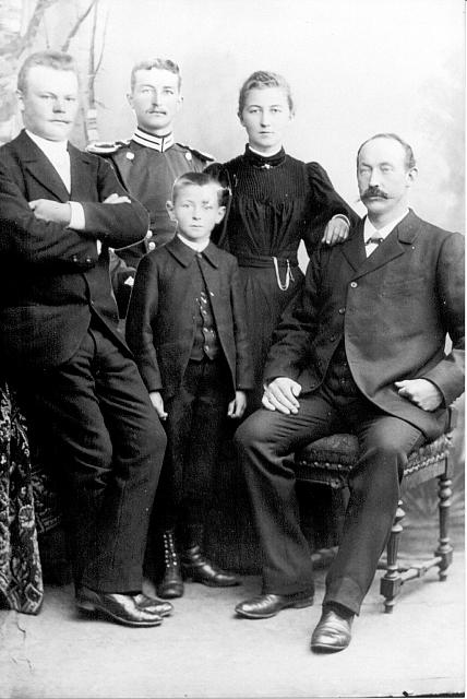 Familienfoto Volkermann und Leiffermann